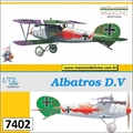 Albatros D.V - Weekend Edition Eduard - 1/72
