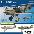 Avia B.534 4.série - Weekend Edition Eduard - 1/72