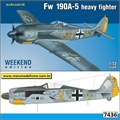 Focke-Wulf FW190A-5 Heavy Fighter - Weekend Edition Eduard - 1/72