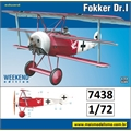 Fokker Dr.I - Weekend Edition Eduard - 1/72