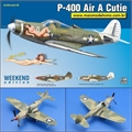P-400 Air A Cutie - Weekend Edition Eduard - 1/48