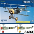 Fokker F.I - Weekend Edition Eduard - 1/48