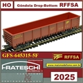 2025 - Gôndola DROP-BOTTOM RFFSA - Frateschi (HO)