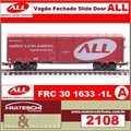 2108A - Vagão Fechado Slide Door ALL no.301.633-1L - Frateschi - (HO)