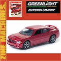 2006 - DODGE CHARGER SRT8 - Greenlight Zine Machines - 1/64