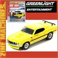 1969 - FORD MUSTANG Mach 1 - Greenlight Zine Machines - 1/64