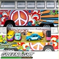MW - DIORAMA VOLKS HIPPIE - Greenlight - 1/64