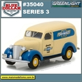1939 - Chevrolet Panel Truck - Greenlight - 1/64