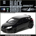 BLACK BANDIT  7 - 2012 FORD FOCUS ST - Greenlight - 1/64
