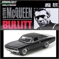 GL HOLLYWOOD - BULLITS 1968 Dodge Charger - Greenlight - 1/64