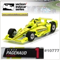 INDY - Penske SIMON PAGENAUD no.1 - Greenlight - 1/64