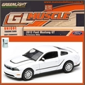 GLMUSCLE  6 - 2012 FORD MUSTANG 5.0 GT - Greenlight - 1/64