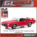 GLMUSCLE 15 - 1971 Pontiac GTO Judge - Greenlight - 1/64