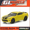 GLMUSCLE 16 - 2016 Chevrolet CAMARO SS - Greenlight - 1/64