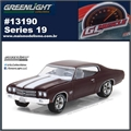 GLMUSCLE 19 - 1970 Chevrolet Chevelle SS - Greenlight - 1/64
