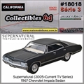C64 - 1967 Chevrolet Impala Sedan - California - 1/64
