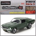 C64 - 1968 Ford Mustang GT Fastback - California - 1/64