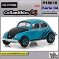 C64 - 1950 Volkswagen Fusca Split Window - California - 1/64