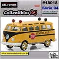 C64 - 1964 Volkswagen Kombi School Bus - California - 1/64