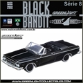 BLACK BANDIT  8 - 1963 CHRYSLER 300 K - Greenlight - 1/64