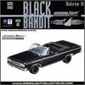 BLACK BANDIT  8 - 1965 Dodge CORONET 500 - Greenlight - 1/64