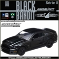 BLACK BANDIT  8 - 2012 Ford SHELBY GT500 - Greenlight - 1/64