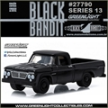 BLACK BANDIT 13 - 1963 Dodge D-100 Pickup - Greenlight - 1/64