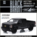 BLACK BANDIT 13 - 2015 Chevrolet Silverado 1500 - Greenlight - 1/64