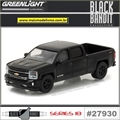 BLACK BANDIT 18 - 2016 Chevrolet Silverado - Greenlight - 1/64