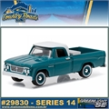 CR14 - 1963 Dodge D-100 Pickup - Greenlight Country Roads - 1/64