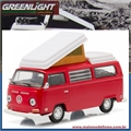 1968 Volkswagen KOMBI Type 2 Campmobile - Greenlight - 1/64