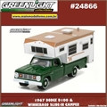 1967 - Dodge D100 e Winnebago Camper - Greenlight - 1/64