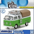 1971 Volkswagen Kombi Double Cab Pickup - Greenlight V-DUB - 1/64