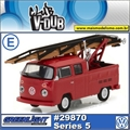 1976 Volkswagen Kombi Double Cab Pickup - Greenlight V-DUB - 1/64
