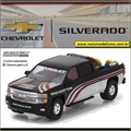 2015 - Chevrolet Silverado - Greenlight - 1/64