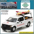 2016 - Ford F-150 Pickup Lifeguard - Greenlight - 1/64