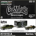 Gas Monkey - 1968 SHELBY GT500KR - Greenlight Hitch and Tow - 1/64