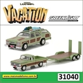 VACATION - 1972 Ford F100 - 1979 Wagon Queen - Greenlight - 1/64