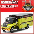 INTERNATIONAL DuraStar Fire Rescue - Greenlight - 1/64