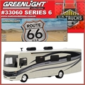 2016 - Fleetwood Bounder ROUTE 66 USA - Greenlight - 1/64