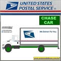 USPS International DuraStar Box Truck CHASE - Greenlight - 1/64