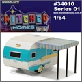 1958 - Catolac DeVille Travel Trailer - Greenlight - 1/64