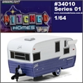 SHASTA 15 Airflyte Trailer - Greenlight - 1/64