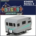 1958 - SIESTA Travel Trailer - Greenlight - 1/64
