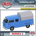 VW Kombi Pickup Cabine Dupla - Greenlight - 1/64