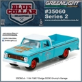 1967 - Dodge D-200 Pickup - Greenlight - 1/64