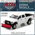 2016 - Dodge RAM 2500 Snow Plow - Greenlight - 1/64