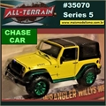 2015 - Jeep Wrangler Willys Wheeler CHASE CAR - Greenlight - 1/64