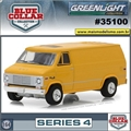 1972 - GMC Vandura Amarela - Blue Collar Greenlight - 1/64