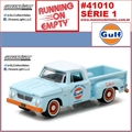 1963 - Dodge D-100 Gulf Oil - Greenlight - 1/64